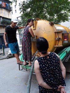 Hút bể phốt tại Phạm văn đồng 0931155115 Giá rẻ nhất