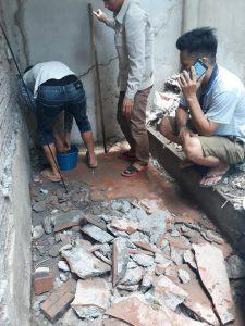 Thợ chống thấm tại nhà Hà Nội triệt để 0931155115