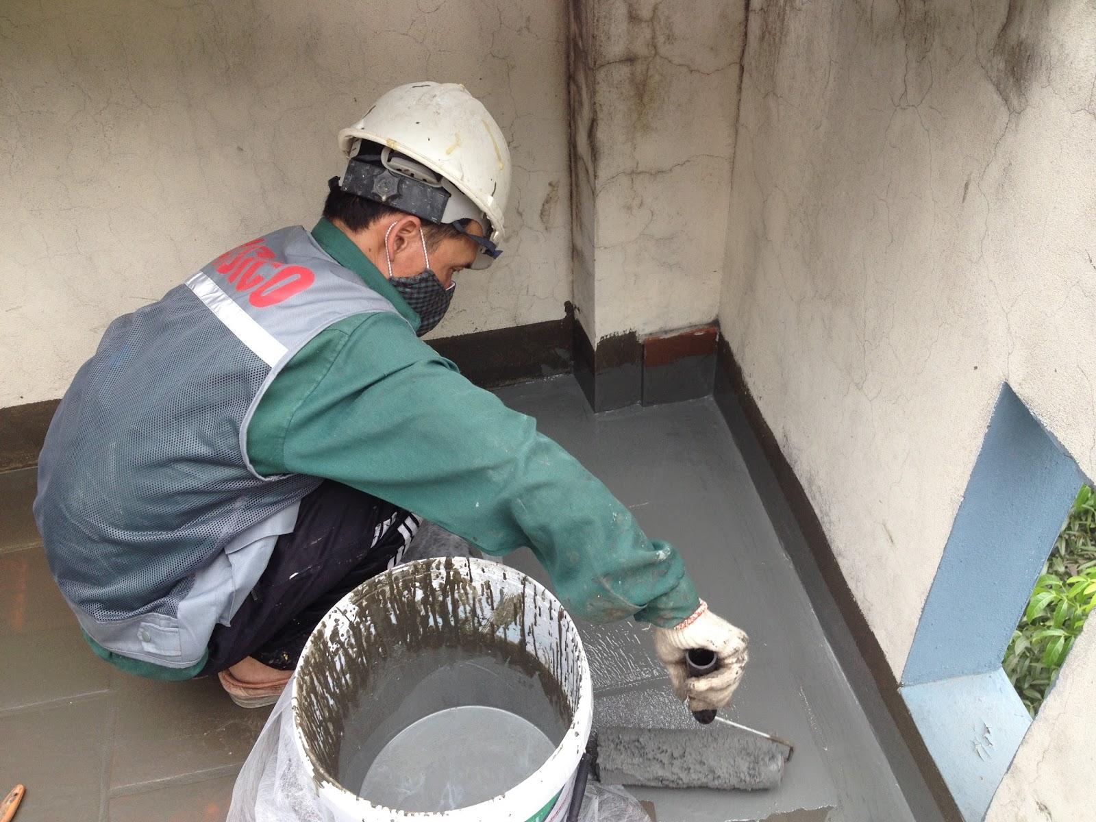 Chống thấm nhà vệ sinh tại Gia Lâm triệt để 0987328135